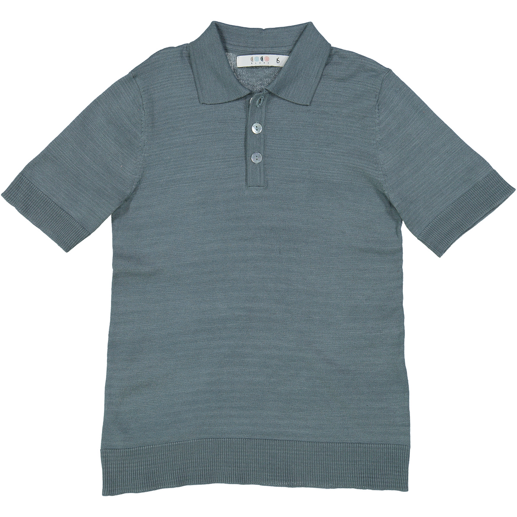 Coco Blanc Slate Sweater Polo