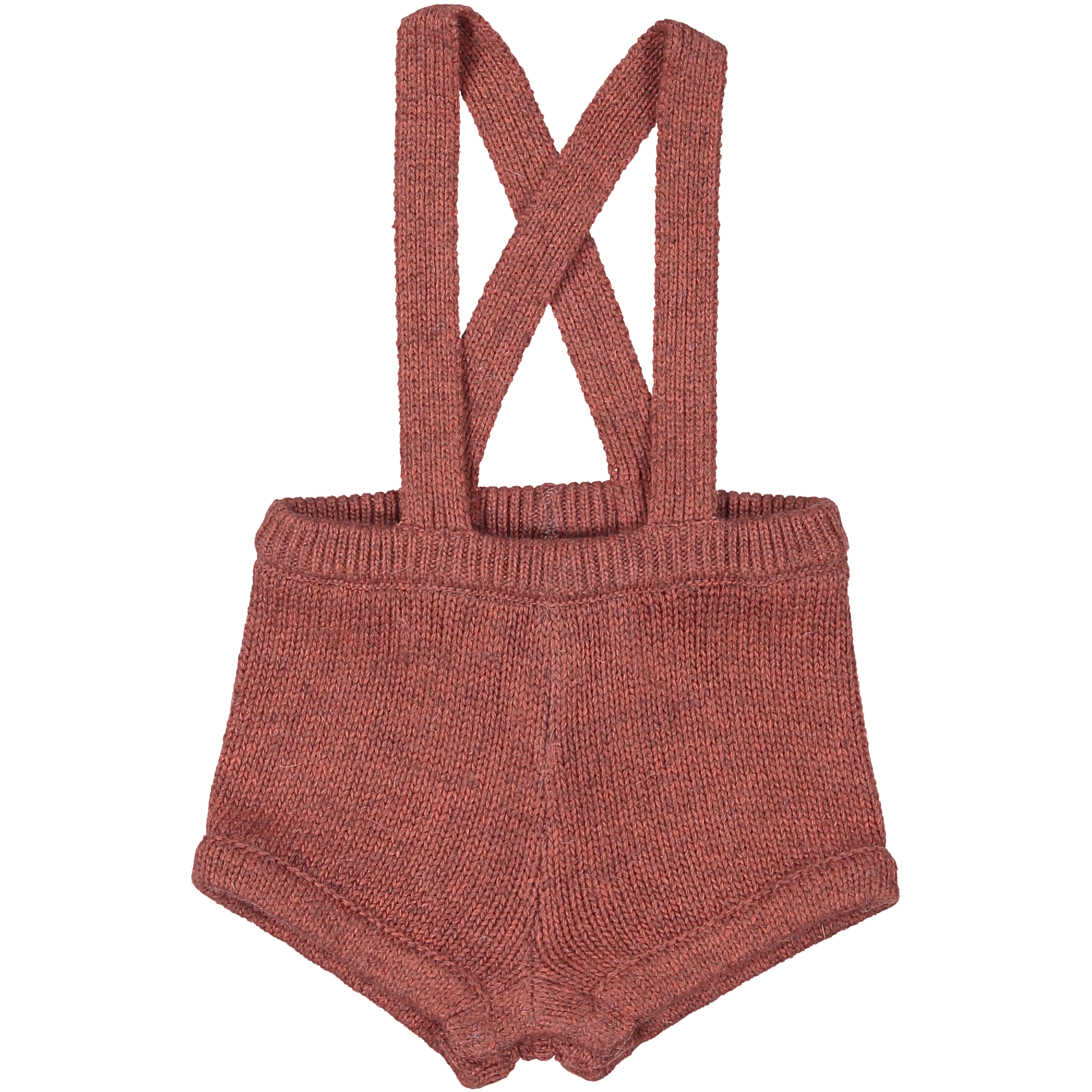 Coco Blanc Dusty Pink Knit Overall Romper