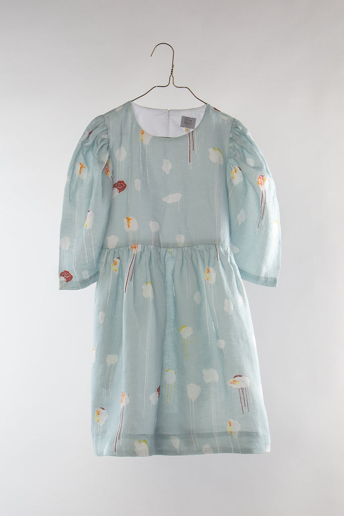 Hilda Henri Hidden Flowers Farmer Dress