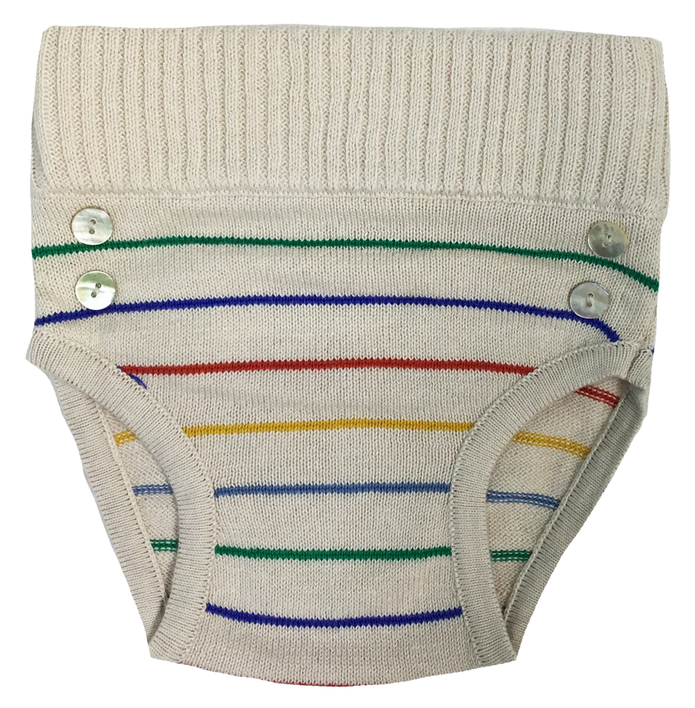 Kipp Baby Boy Rainbow Stripe Bloomer