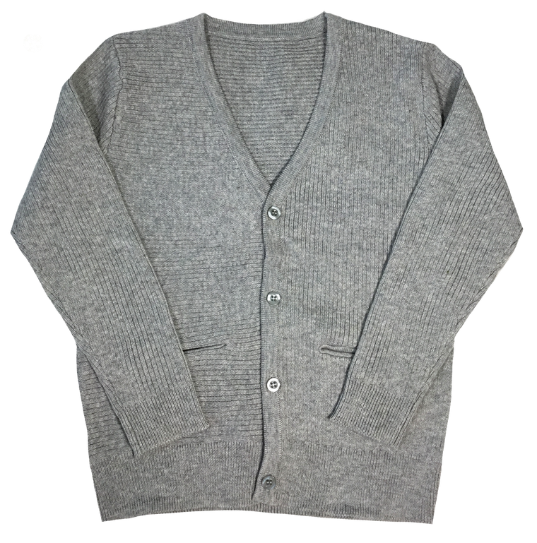 Kipp Grey Solid Cardigan