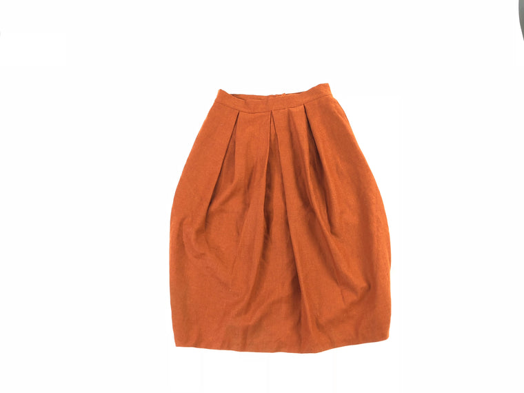 Euro Miss Rusty A-line Skirt