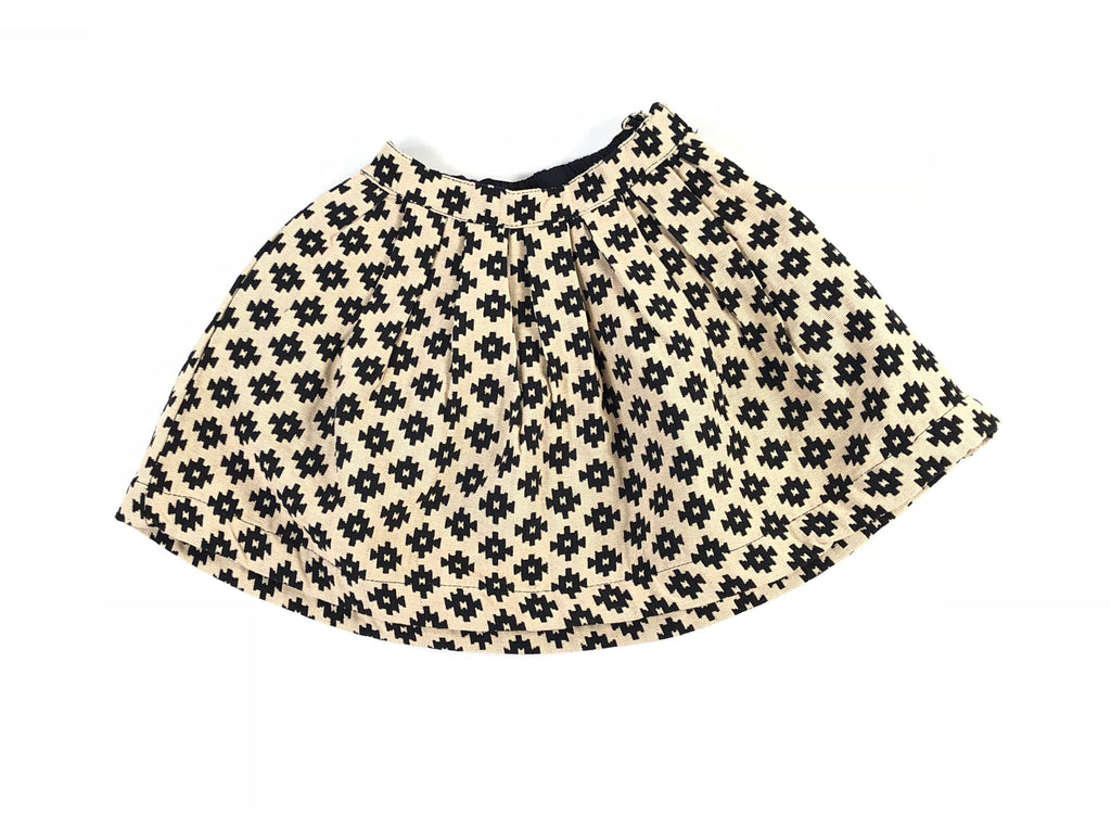 Mar Mar Black/White Jaquard Skirt