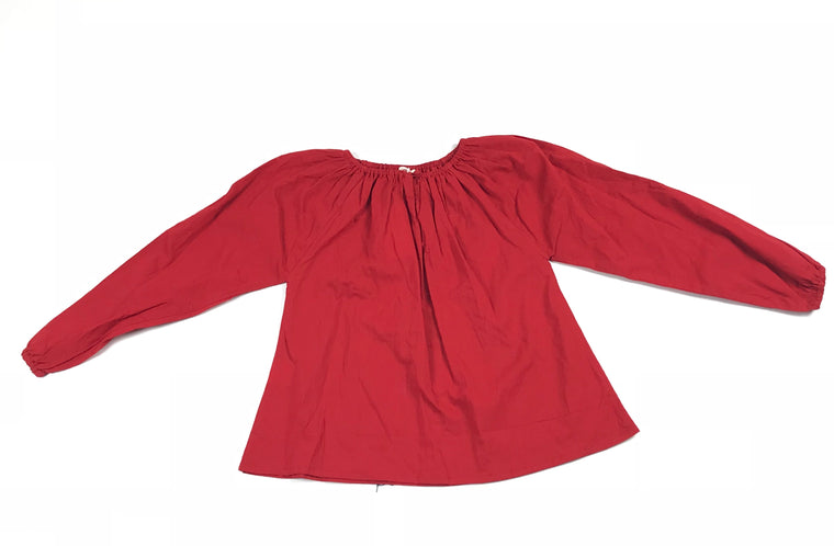 Ketiketa Bright Red long Sleeved Blouse
