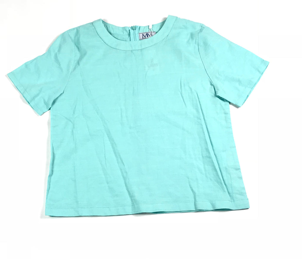 Meme Mint Top