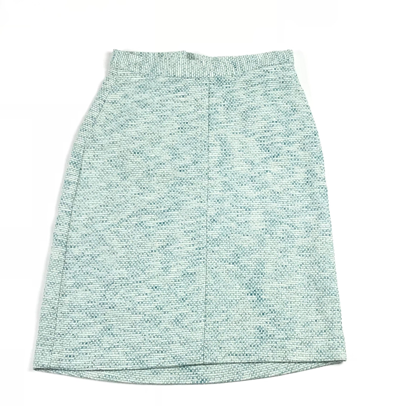 Miss L Ray Light Blue Woven Skirt