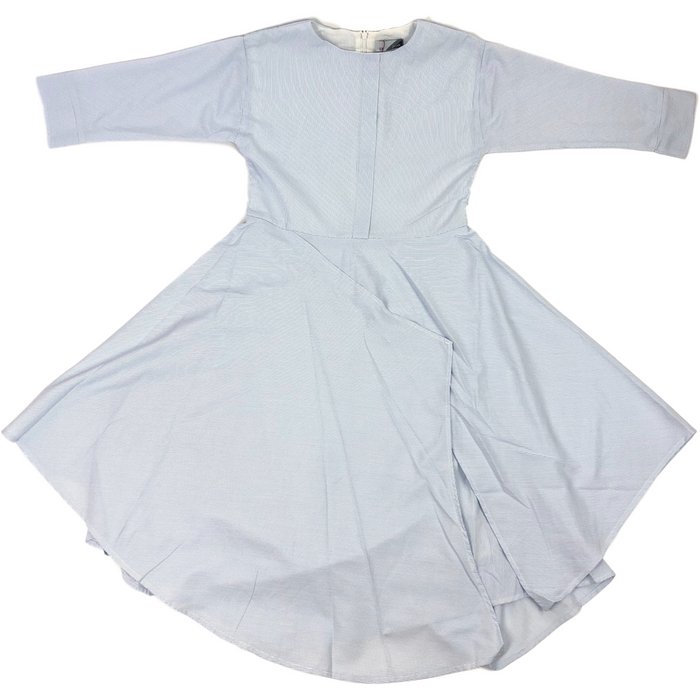 Joli Striped Light Blue Dress