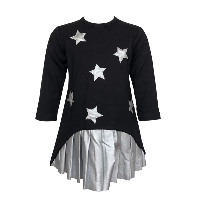 Tiffany Black/Silver Star Dress