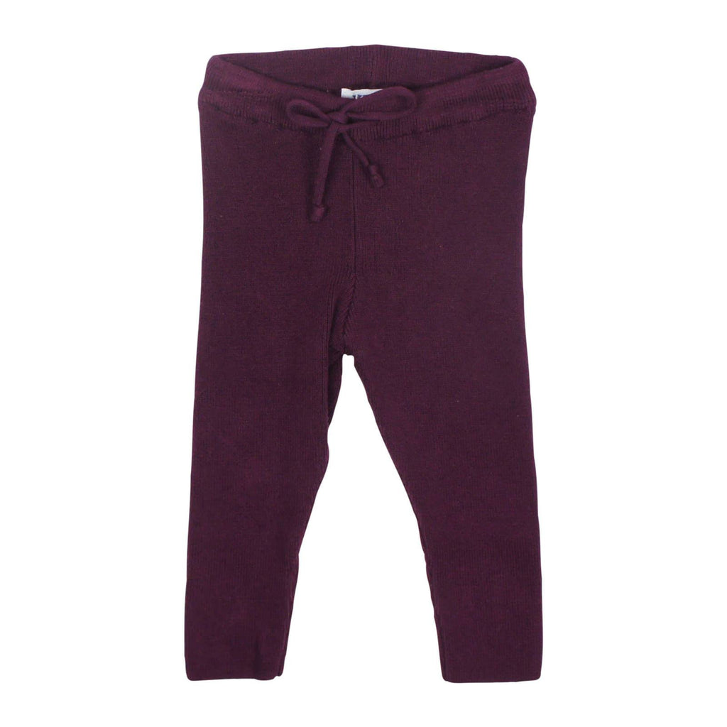 Kipp Baby Berry Knit Leggings