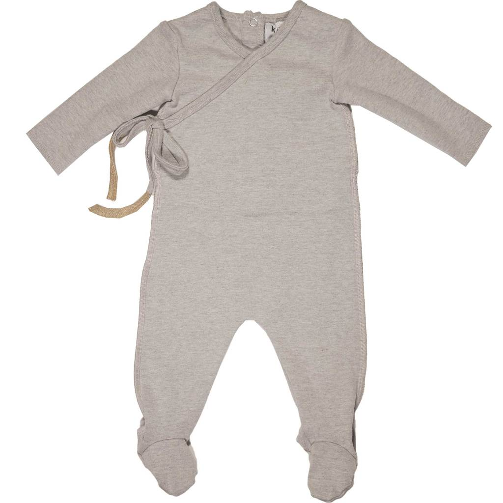 Kipp Baby Heather Grey Wrap Set