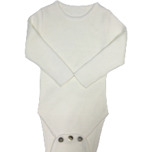 Kipp Baby Winter White Knit Bodysuit