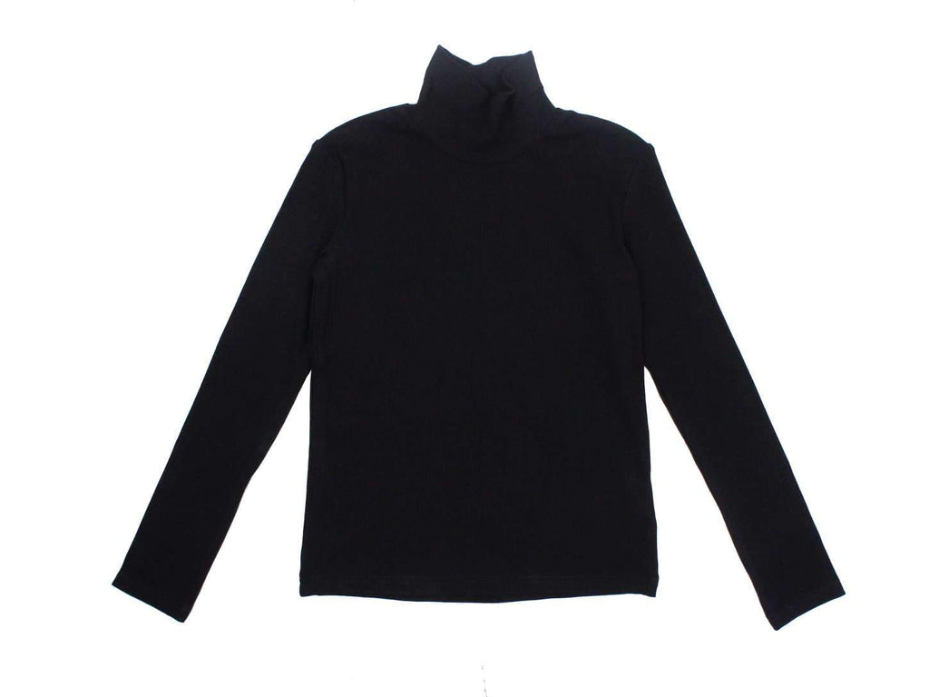 Kipp Black Rib Turtleneck