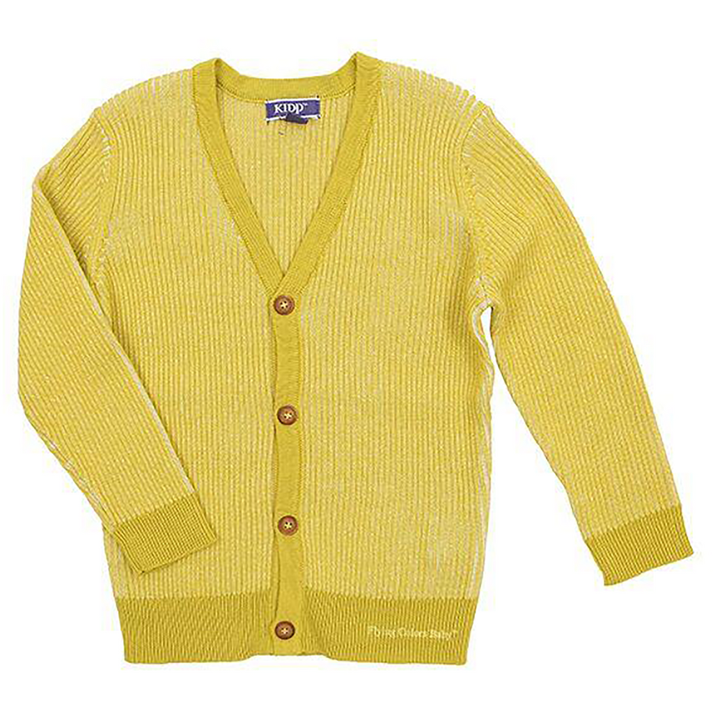 Kipp Citrus Ribbed Cardigan