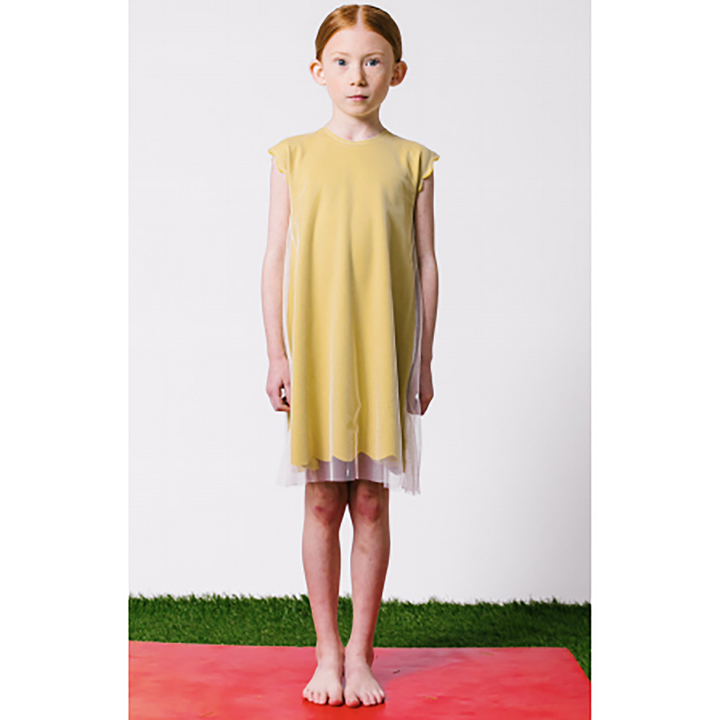Kipp Citrus Scallop Dress