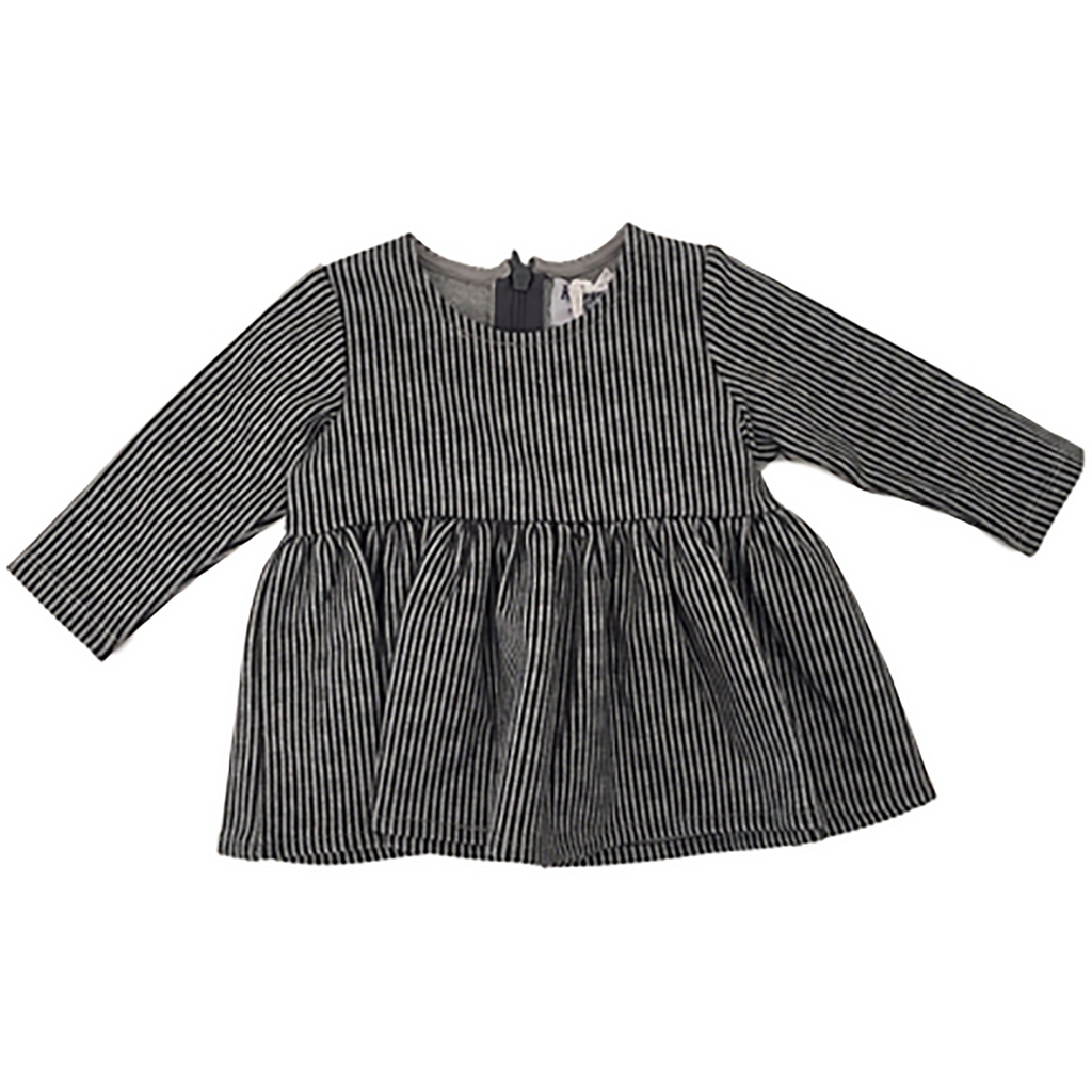 Kipp Grey Knit Blouse