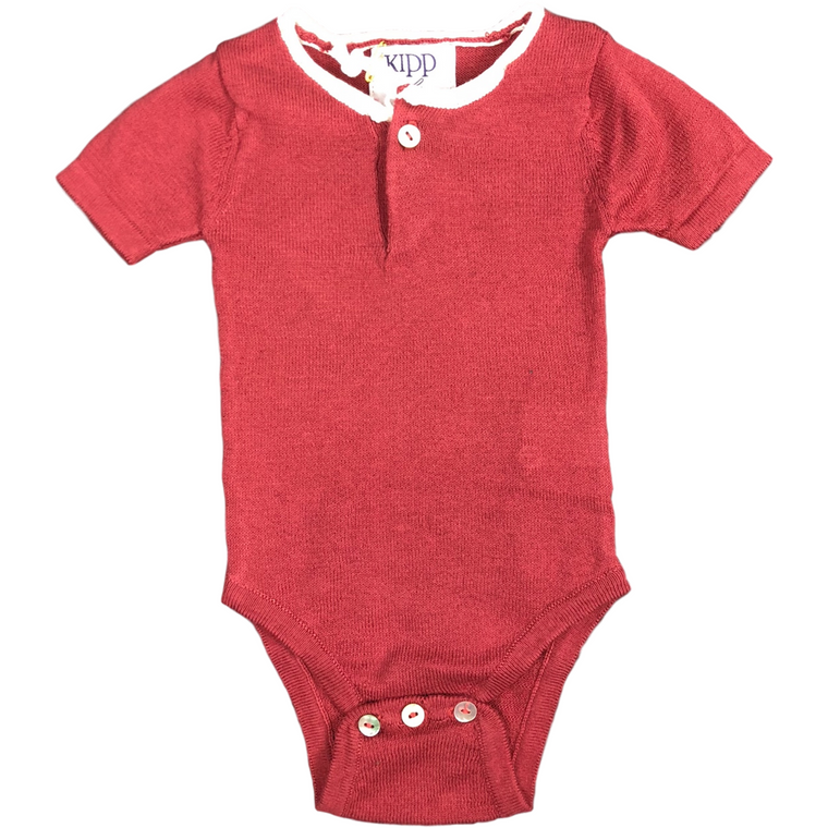 Kipp Baby Blush Knit Bodysuit