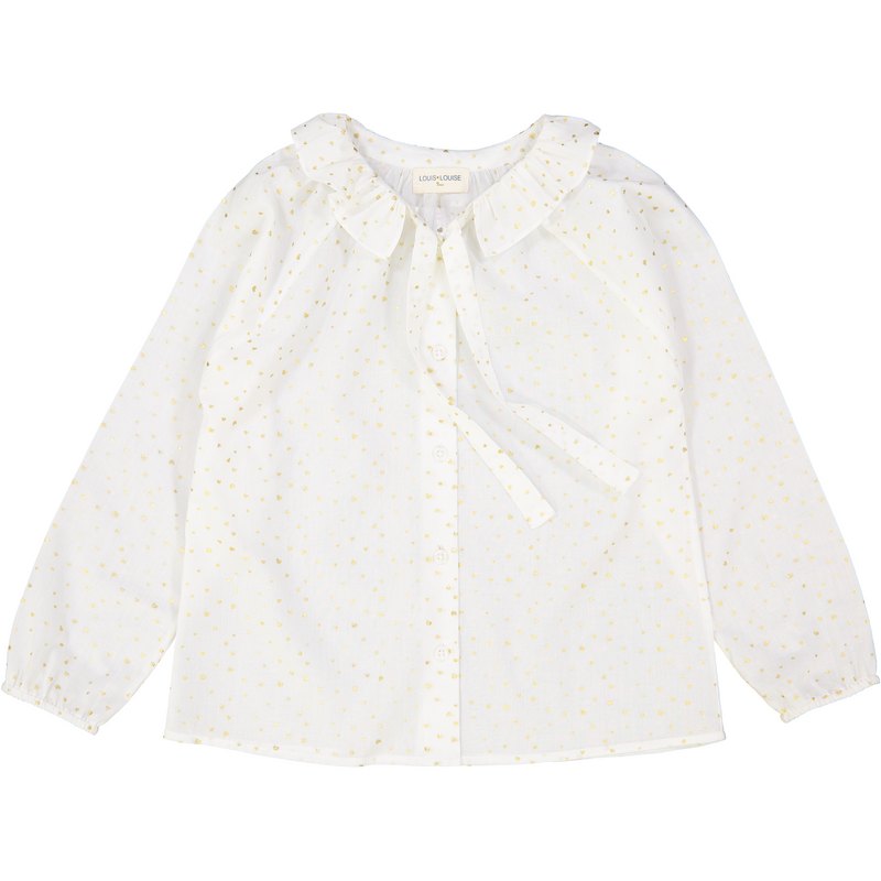 Louis Louise Gold/White Angele Tunic