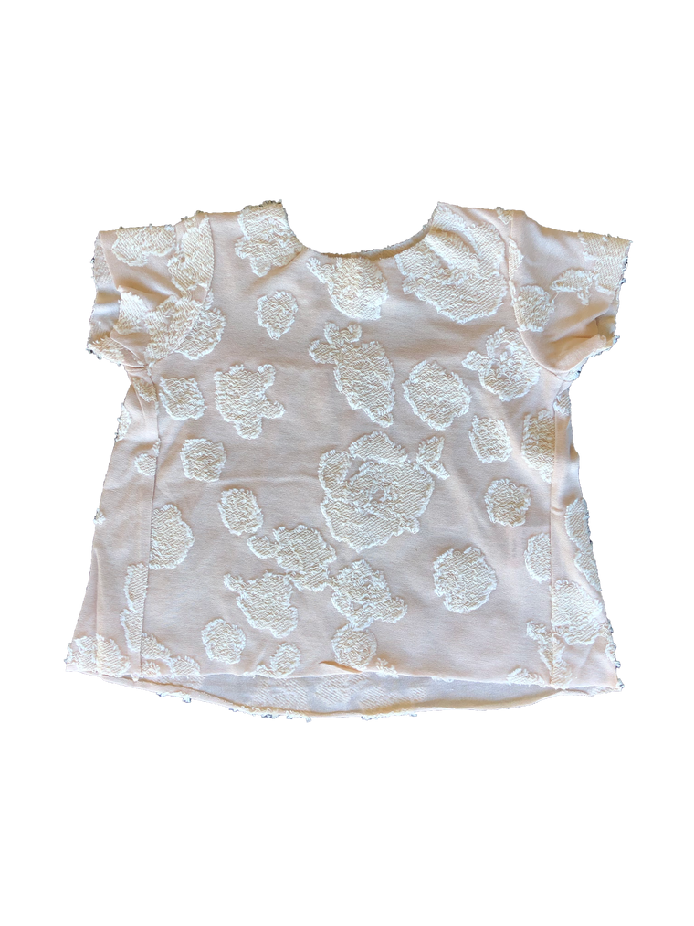Latte Baby Arianna Pink Flower Top
