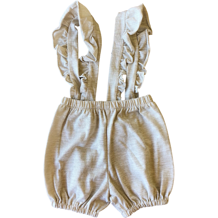Latte Biscotti Gold Shimmer Suspenders Bloomer