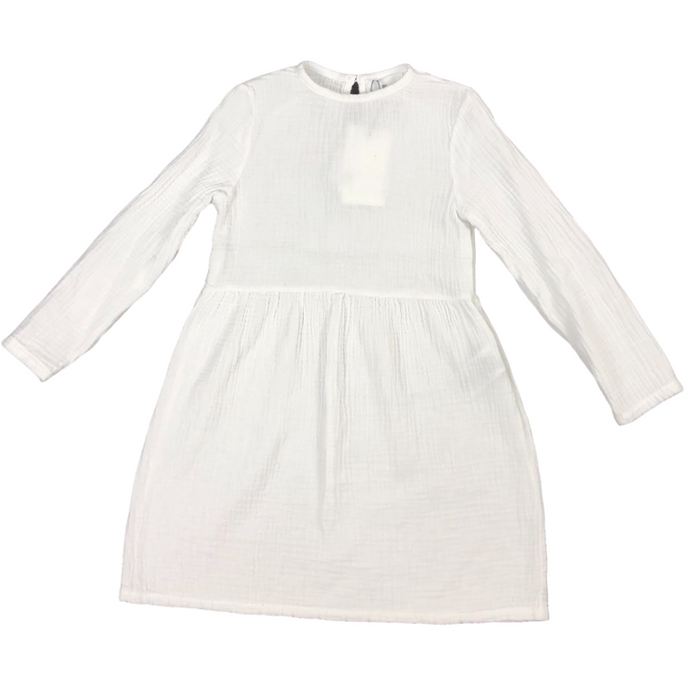 Le Petit Coco White Dress