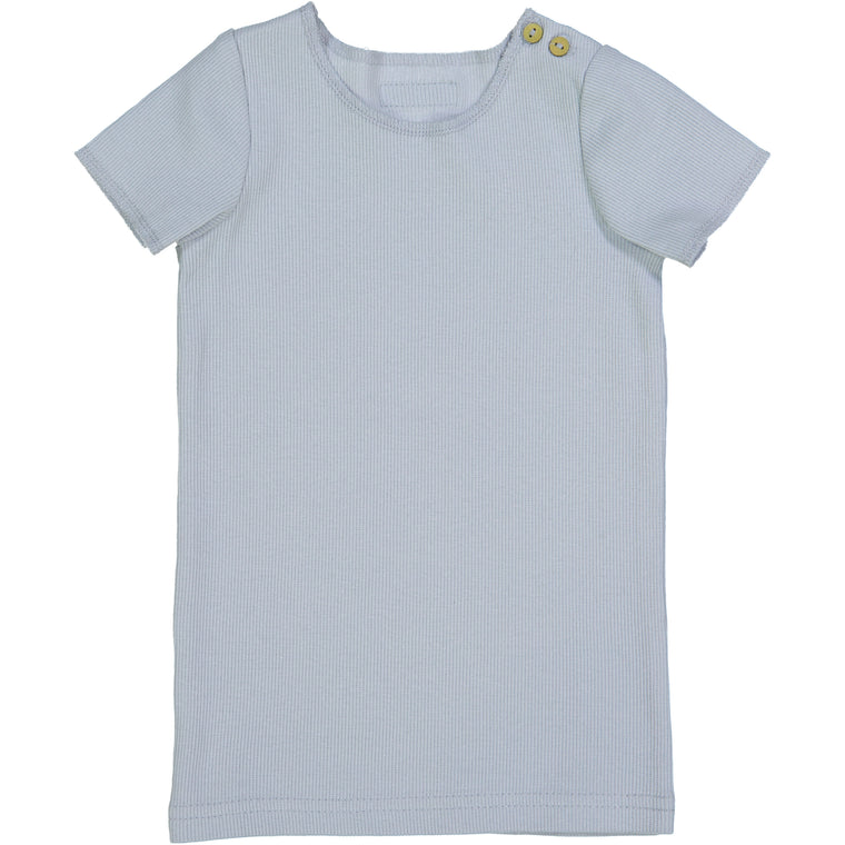 Lil Leggs Light Blue Ribbed Tee