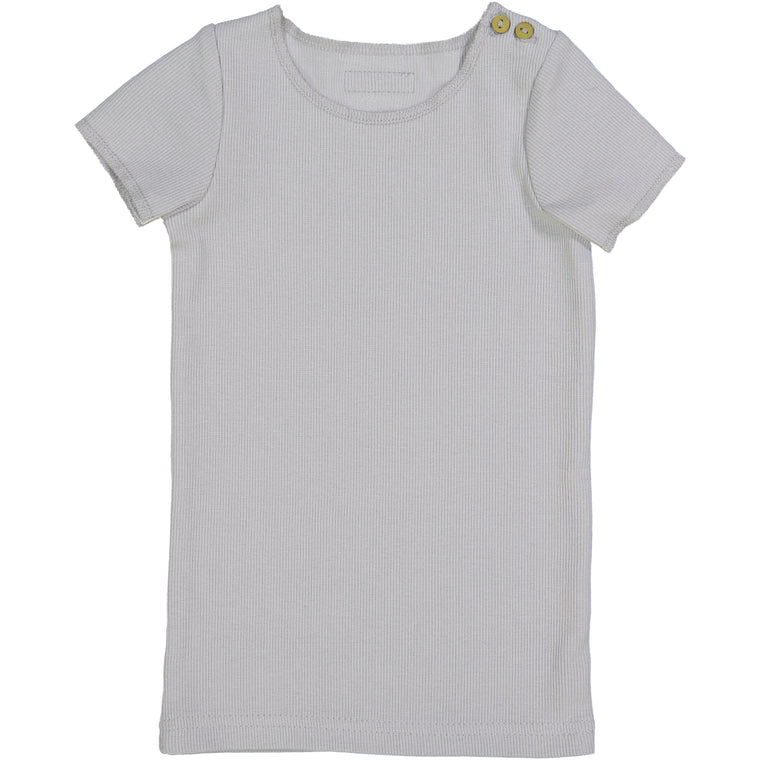 Lil Leggs Light Grey Ribbed Tee