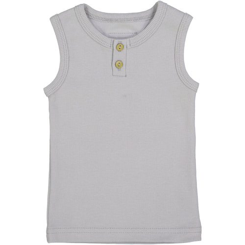 97c6572e14019 Lil Leggs Light Grey Ribbed Tank Top