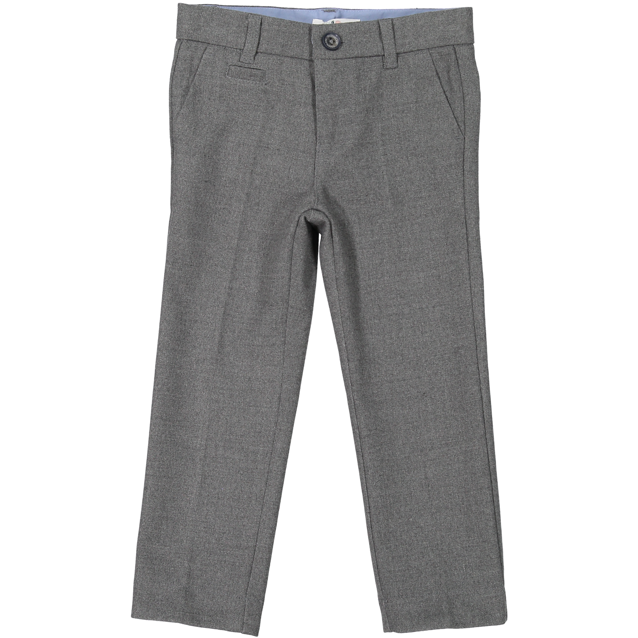 Coco Blanc Light Grey Heather Wool Pants