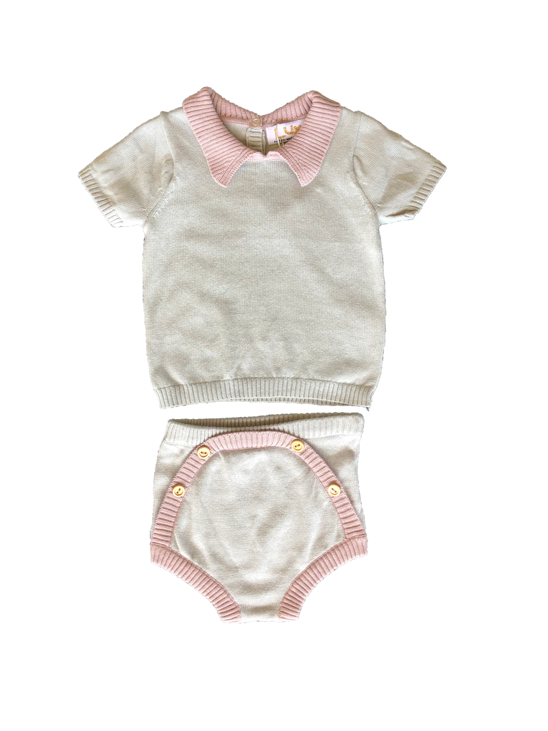 Lux Highrise/Dusty Mauve Baby Set