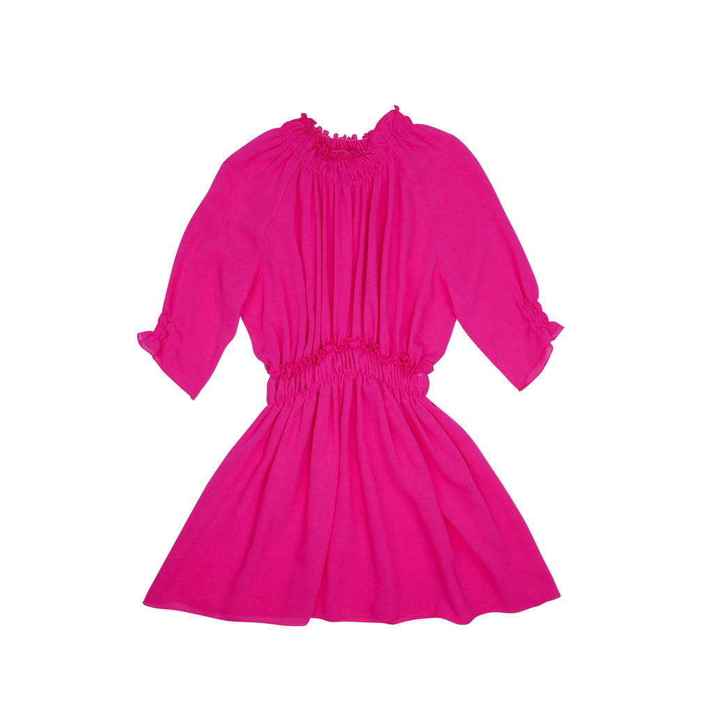Miss L Ray Fuschia Lucy Dress