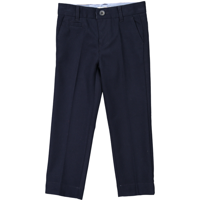 Coco Blanc Navy Wool Pants