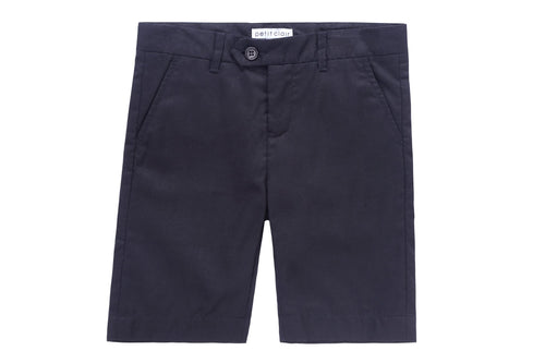 154e20df9 Petit Clair Black Linen-Like Shorts