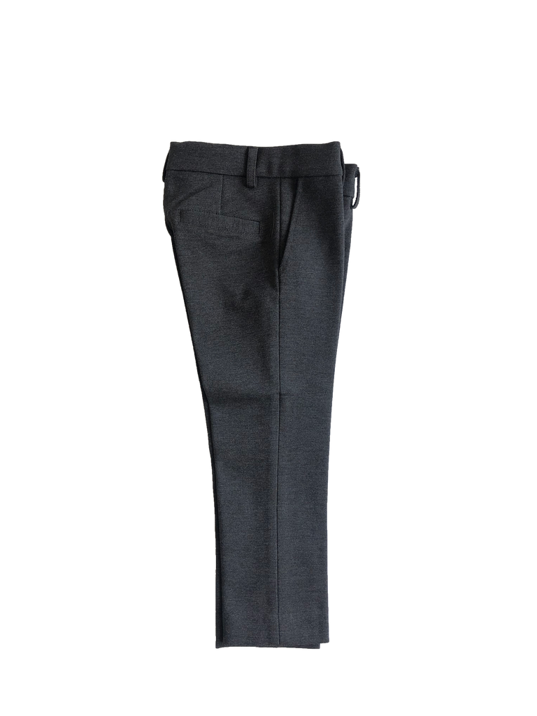 Pompomme Grey Basic Stretch Pants