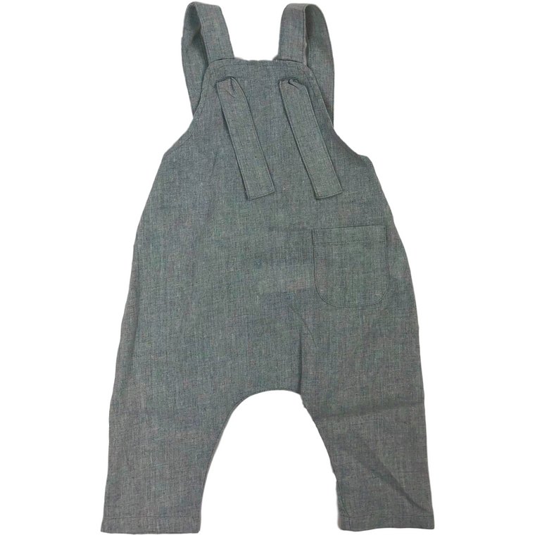 Pompomme Light Mint Overalls
