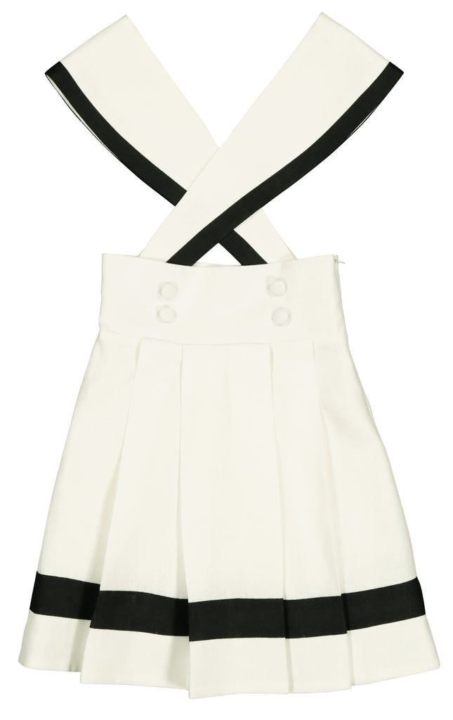 Carbon Soldier Ivory/Black Sipley Skirt