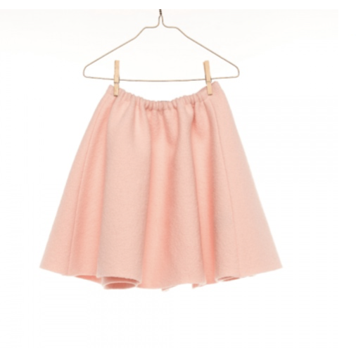 Hilda Henri Powder Pink Melody Skirt