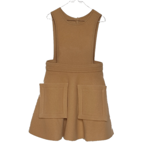 Hilda Henri Hazelnut Penelope Pocket Dress