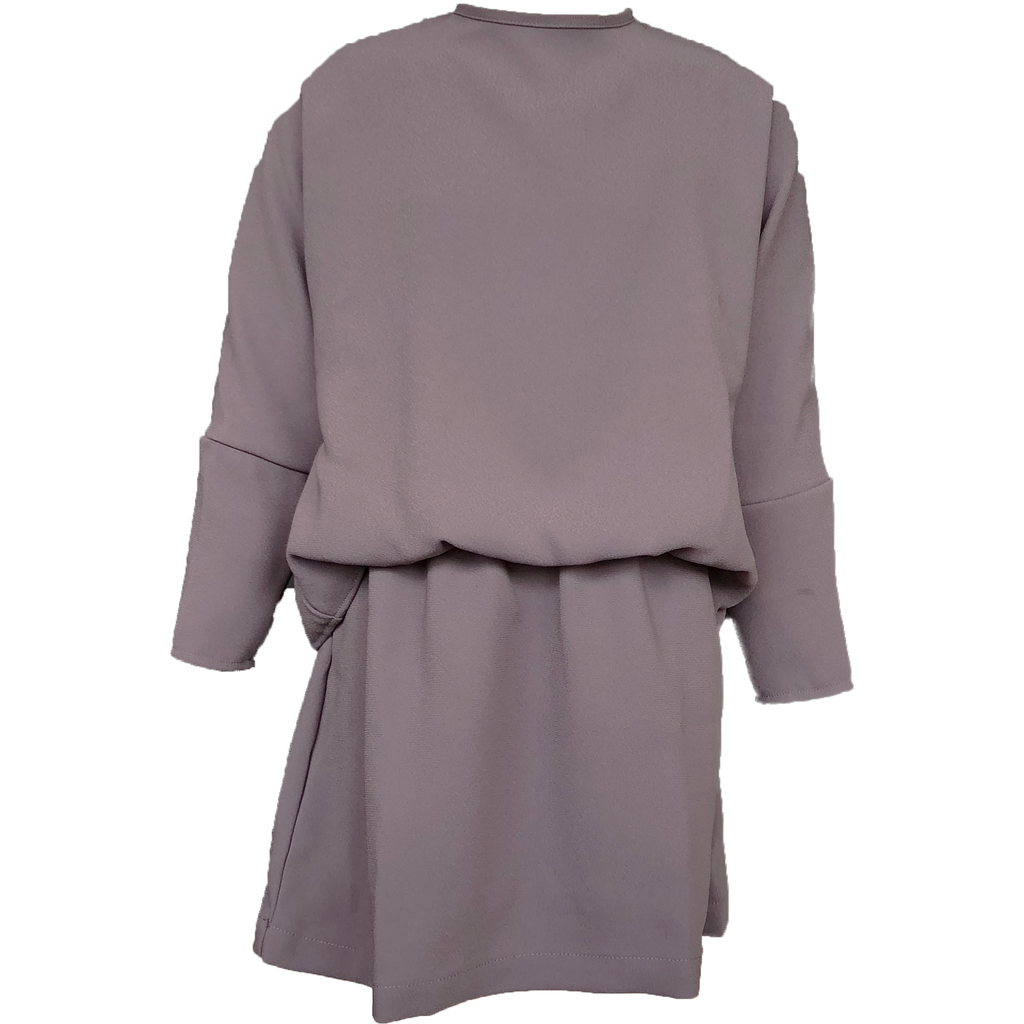 Tarantela Grey Crepe Dress