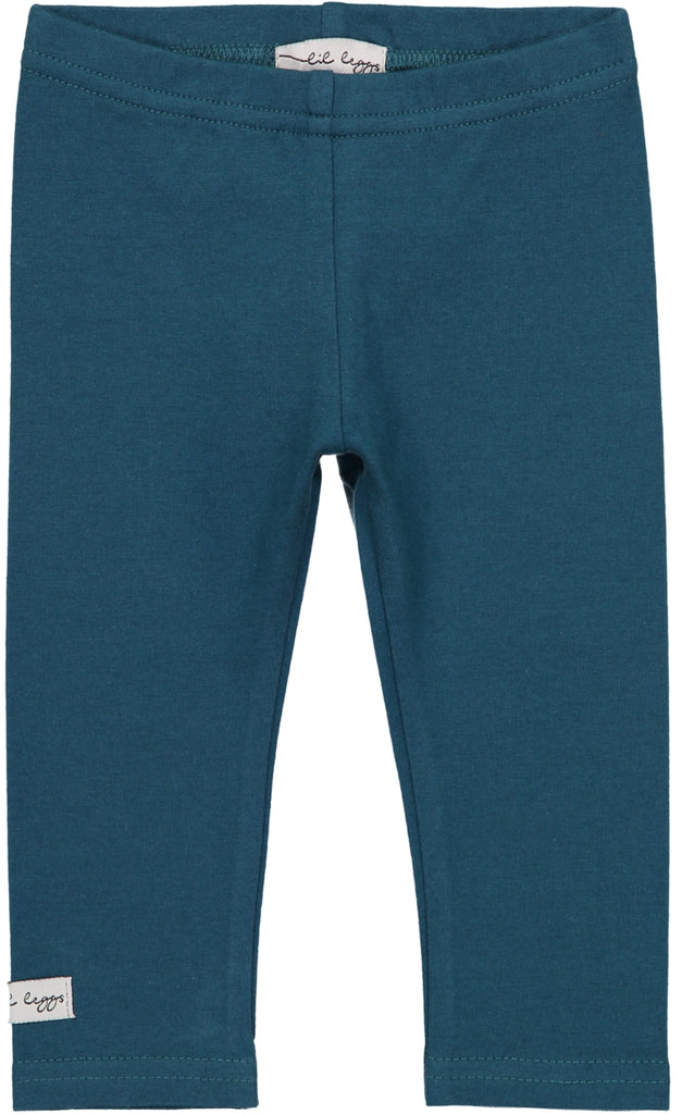 Lil Leggs Teal Leggings