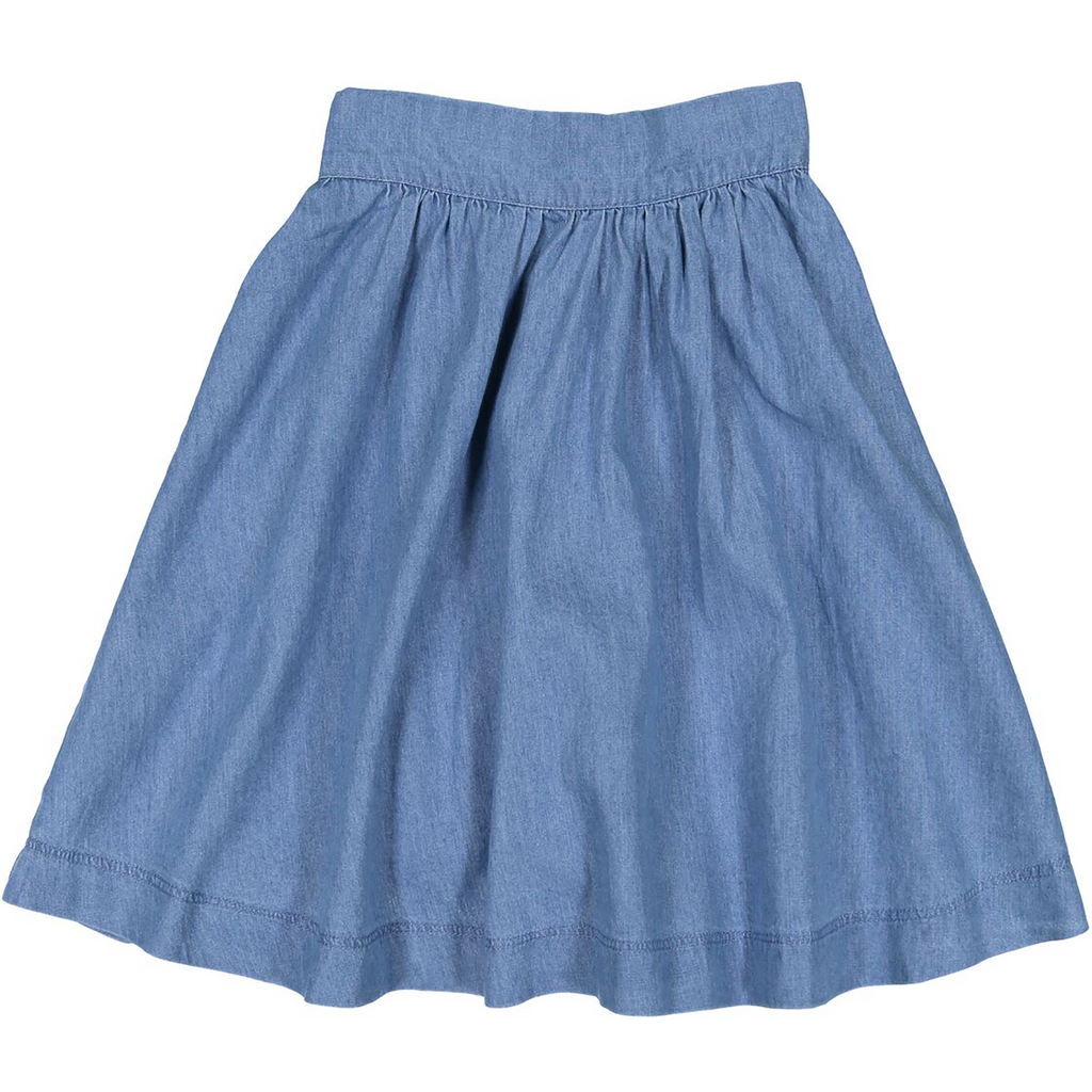 Teela Light Denim Circle Skirt
