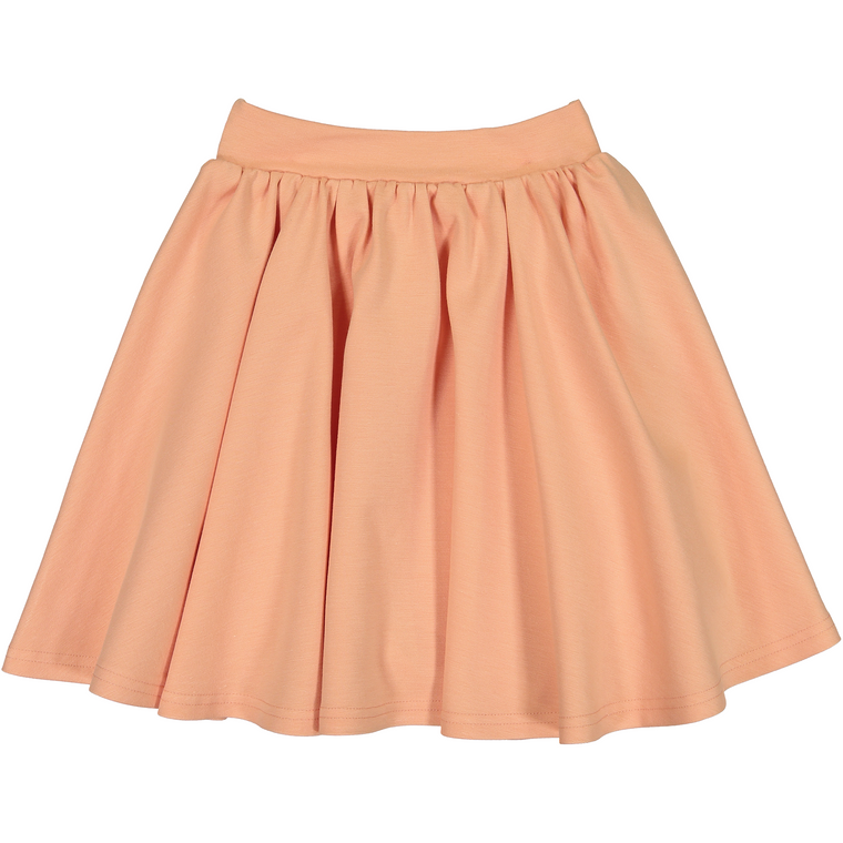 Teela Peach Ponte Circle Skirt