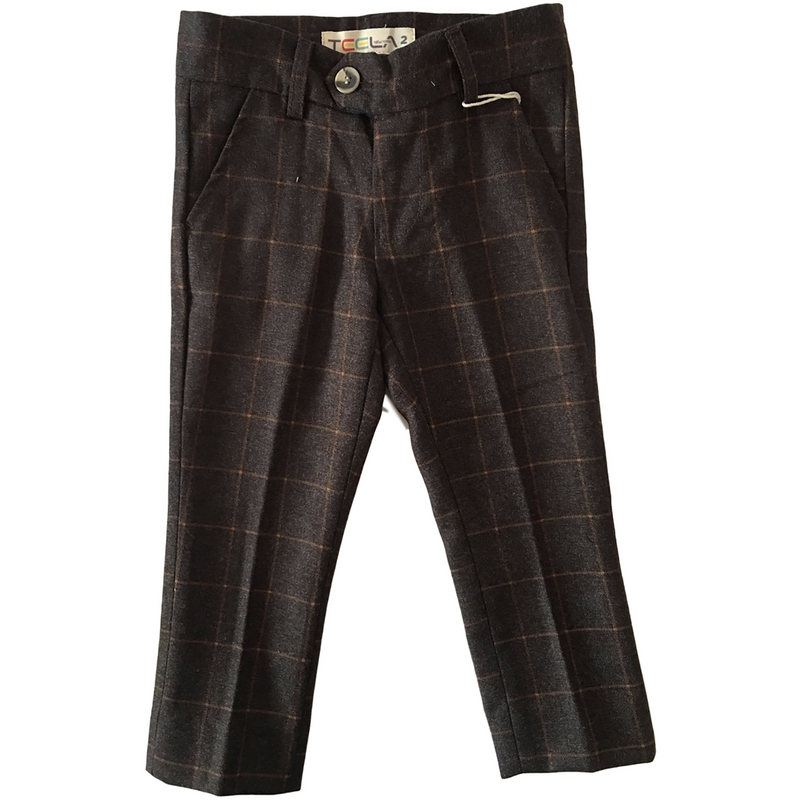 Teela Rex Earth Windowpane Pants