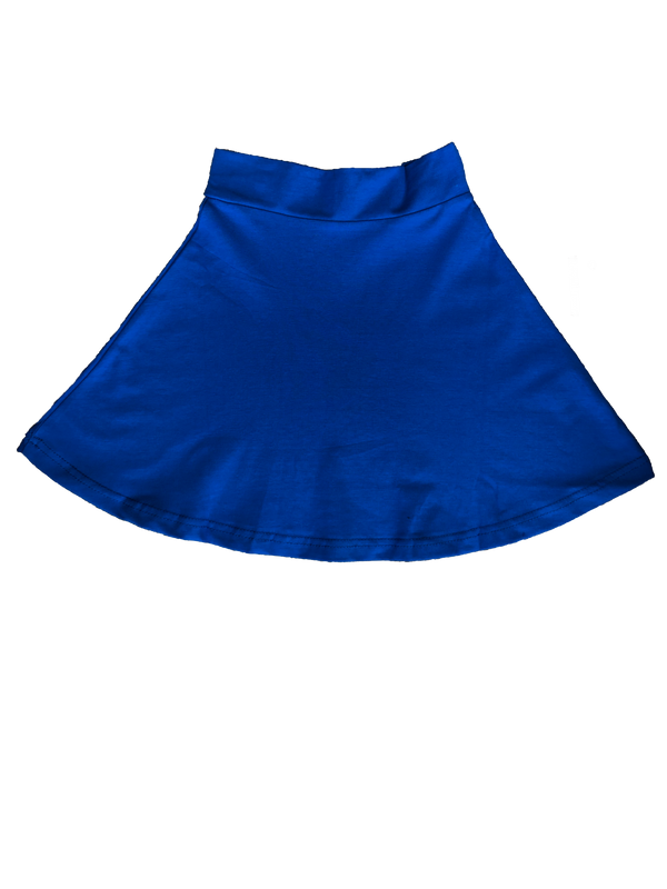 Three Bows Beach Blue Camp Skirt