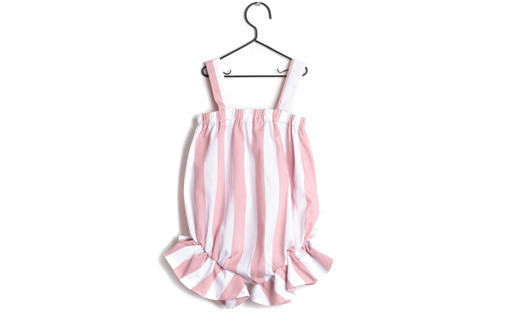 Wolf & Rita Pink Striped Regina Jumpsuit
