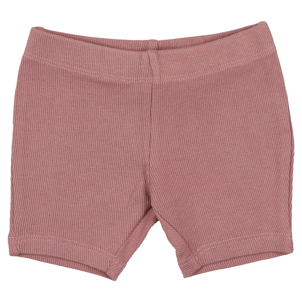 Coco Blanc Deep Rose Biker Shorts