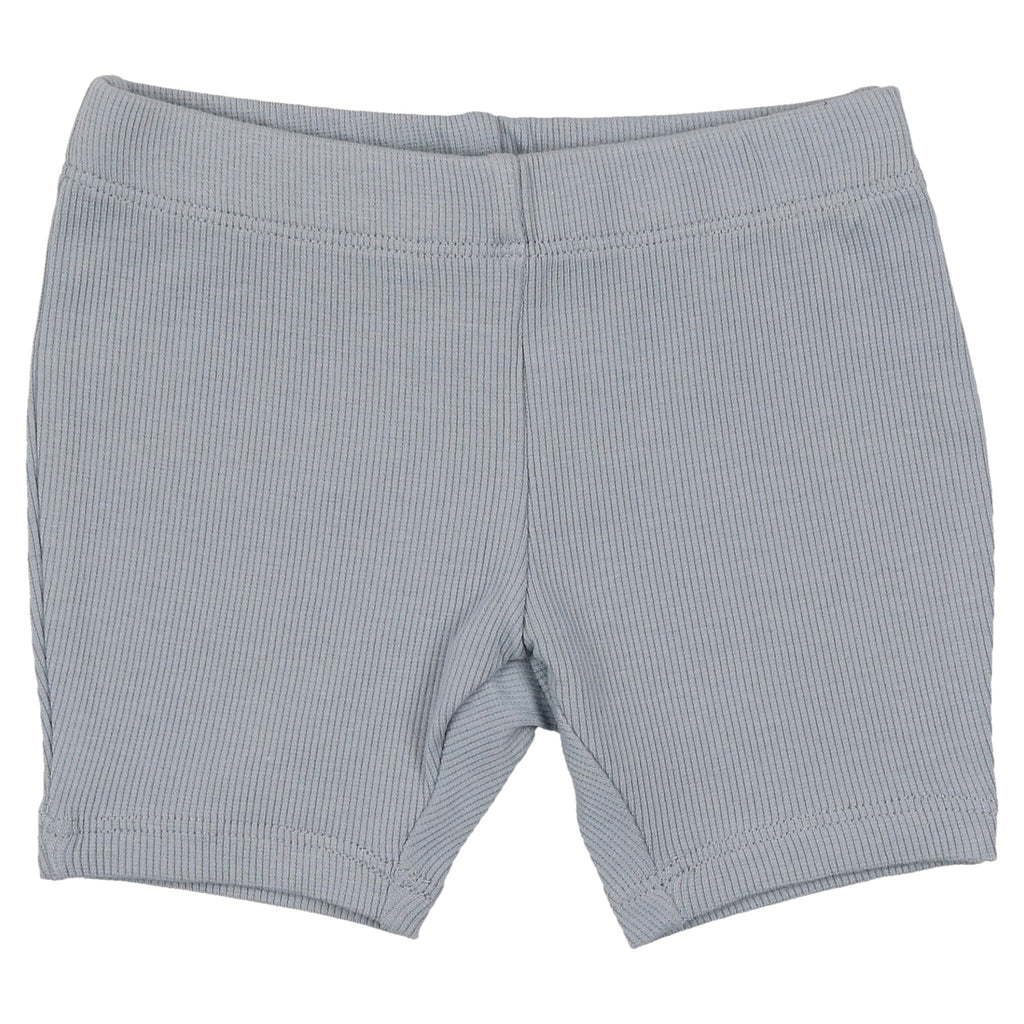 Coco Blanc Ice Blue Biker Shorts