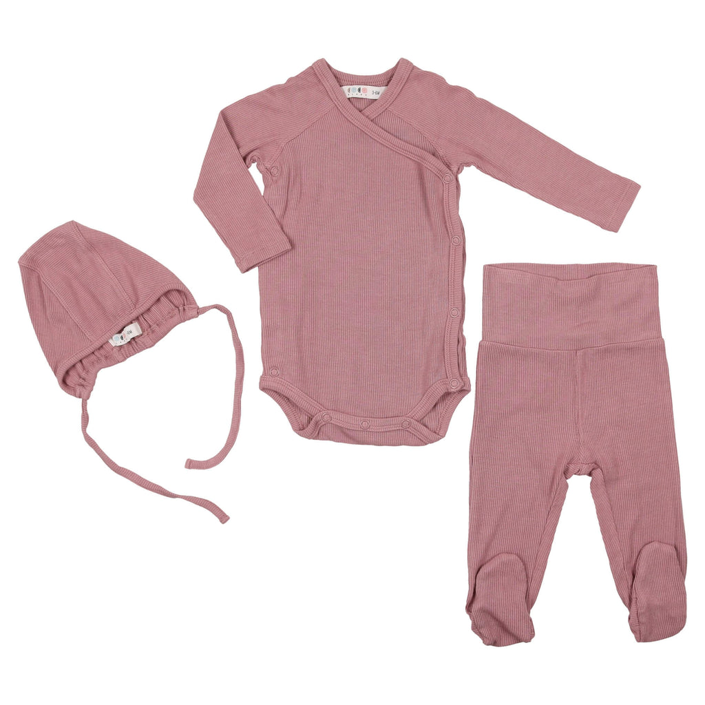 Coco Blanc Deep Rose Baby Gift Set