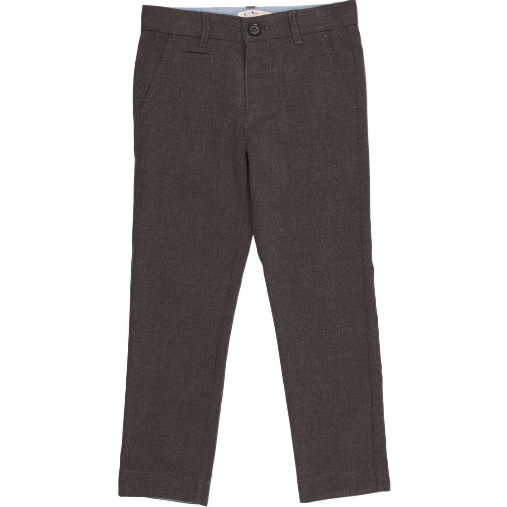 Coco Blanc Dark Grey Wool Pants