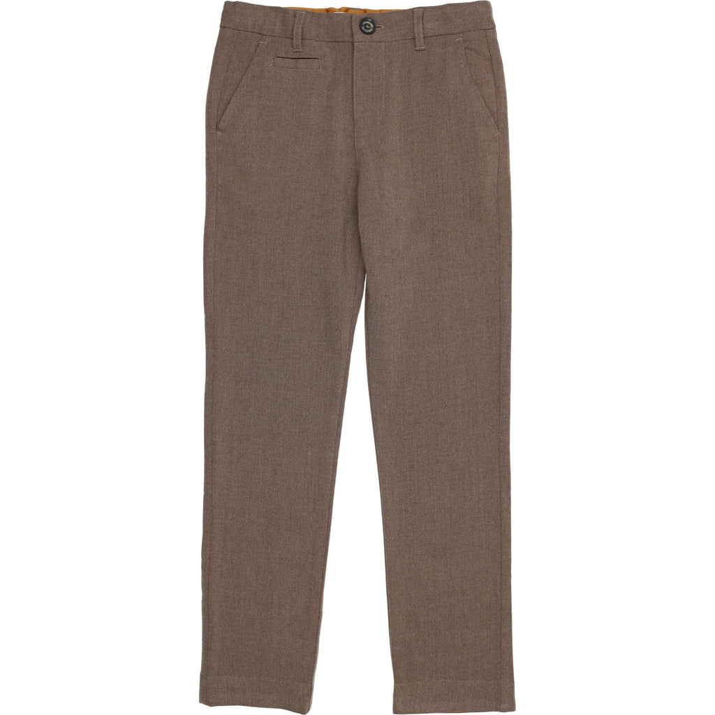Coco Blanc Mocha Heather Wool Pants
