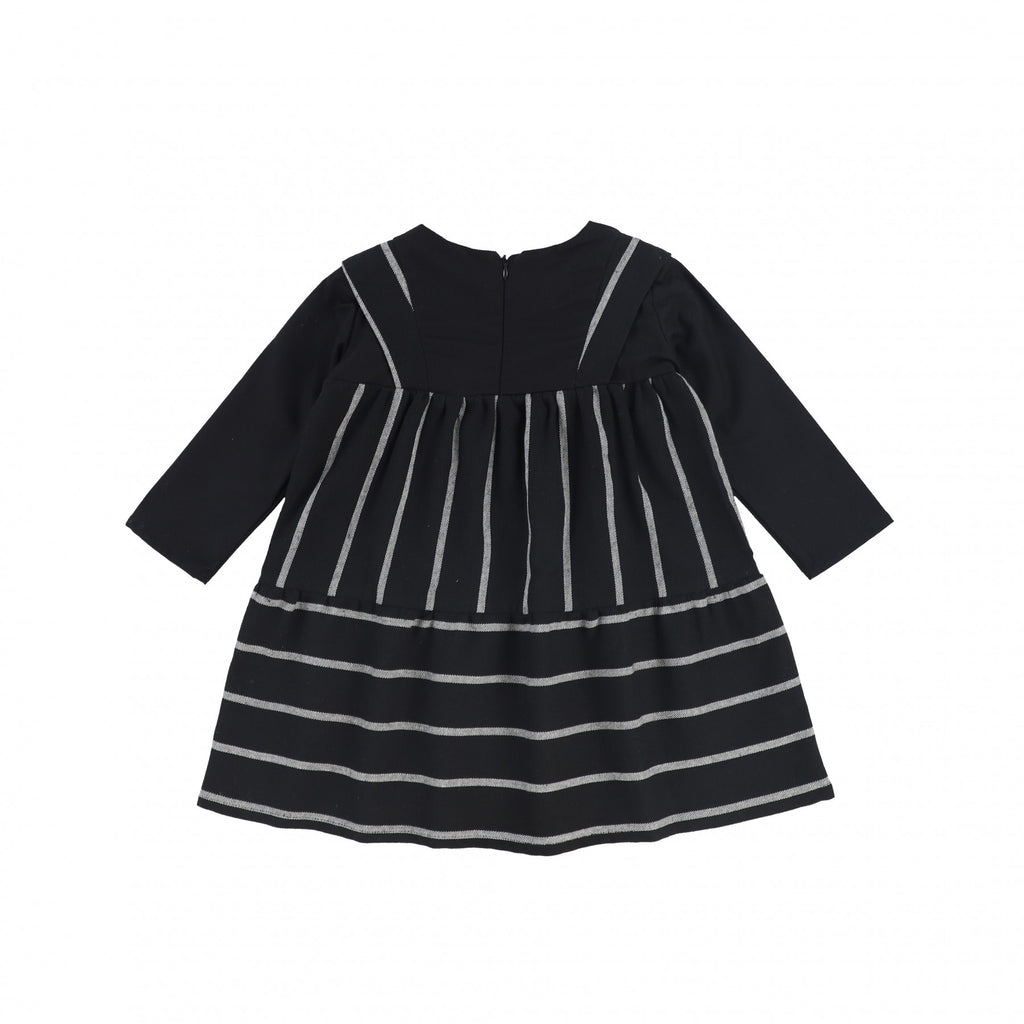 Mimapi Black Striped Beirut Dress